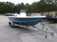 2015 Bulls Bay 2200 Steel Blue, powered by a Yamaha 150
