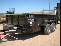C&B Dump Trailers in stock and ready to roll! These