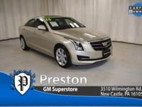 Clean CARFAX, 1 owner! Cadillac Certified! Nicely