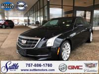 2015 Cadillac ATS 2.0L Turbo Black Raven * LEATHER *, *