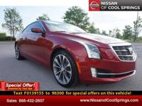 This 2015 Cadillac ATS is loaded! It's a 1-Owner