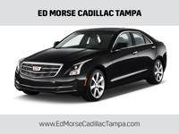 CARFAX One-Owner. Clean CARFAX. Black 2015 Cadillac ATS