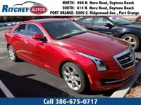 LOW MILEAGE 2015 CADILLAC ATS SEDAN LUXURY RWD**CLEAN