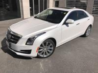 Cadillac Certified- This good looking ATS is an AWD