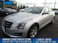 Come see this 2015 Cadillac ATS Sedan Luxury AWD. Its