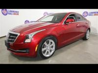 2015 Cadillac ATS 2.0L Turbo Luxury CARFAX One-Owner.