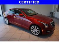 CARFAX One-Owner. Clean CARFAX. Certified. Red