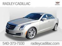 New Price! 2015 Cadillac ATS 2.0L Turbo Premium 2.0L