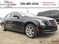 Options:  2015 Cadillac Ats Sedan Standard