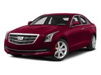 Outstanding design defines the 2015 CADILLAC ATS! A