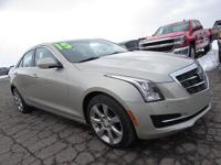New Price! ATS 2.0L Turbo Luxury Silver Coast Metallic