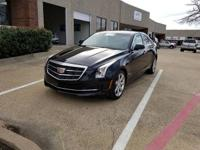 2015 Cadillac ATS 2.0L Turbo Luxury in Black Raven.