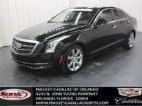 This 2015 Cadillac ATS Sedan Luxury comes complete with