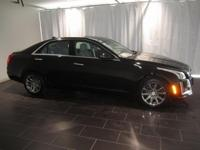 Options:  2015 Cadillac Cts 2.0L Turbo|Black|Clean