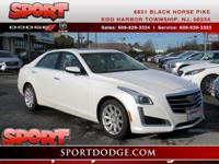 Just Arrived. This 2015 Cadillac CTS 2.0L Turbo Luxury