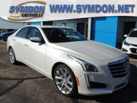 Options:  2015 Cadillac Cts 3.6L Premium Collection|Awd