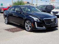 2015 Cadillac CTS 3.6L Twin Turbo Vsport Premium Black
