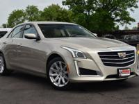 New Price! Clean CARFAX. Tan 2015 Cadillac CTS 2.0L