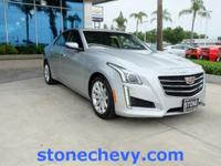 CARFAX One-Owner. Clean CARFAX. 2015 Cadillac CTS 2.0L