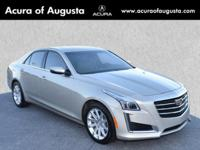 2015 Cadillac CTS 2.0L Turbo Luxury in Silver Coast