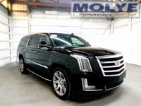 Cadillac ESV with way too many features to list! Heads
