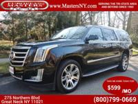 This Lovely Black 2015 Cadillac Escalade ESV Luxury