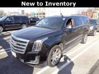 Escalade ESV... Luxury... 4WD... 6.2 V8... Leather...