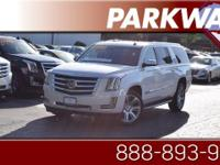 2015 Cadillac Escalade ESV Luxury White Diamond Tricoat