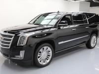 2015 Cadillac Escalade with Leather Seats,Power Front