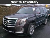 Escalade... ESV... Premium... 6.2 V8... Leather...