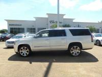 Options:  2015 Cadillac Escalade Esv Premium|White