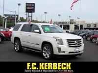CarFax 1-Owner, This 2015 Cadillac Escalade Luxury will