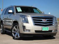 This outstanding example of a 2015 Cadillac Escalade