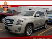 Options:  2015 Cadillac Escalade Luxury|4X4 Luxury 4Dr