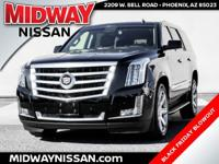 2015 Cadillac Escalade Luxury Black Raven V8Certified.