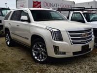 White 2015 Cadillac Escalade Platinum Edition 4WD