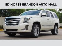 This 2015 Cadillac Escalade Platinum is proudly offered