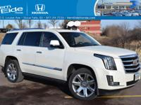 Own the road at every turn... This Escalade has less
