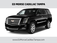 CARFAX One-Owner. Clean CARFAX. Black 2015 Cadillac