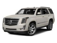 Options:  2015 Cadillac Escalade Premium|White/|V8 6.2L