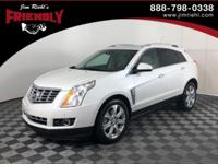 New Price! Recent Arrival! SRX Premium, FWD, Platinum