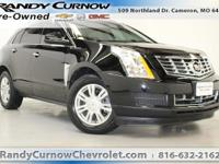 Options:  2015 Cadillac Srx Luxury Collection|Black