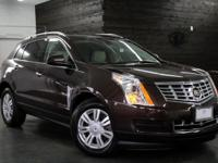 Certified. Please consider this 2015 SRX that just came