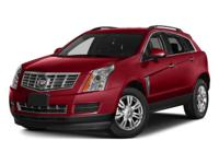 2015 Cadillac SRX Luxury in Black. Best color! Get