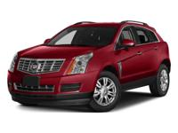Recent Arrival! Clean CARFAX. 2015 Cadillac SRX Luxury