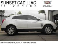 Cadillac Certified SRX with only 15k miles. Navigation