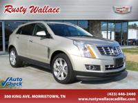 Silver Coast Metallic 2015 Cadillac SRX Performance AWD