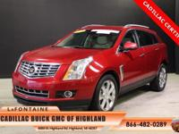2015 Cadillac SRX Performance in Red. Cadillac
