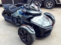 NEW CUSTOM LAMONSTER GARAGE CAN-AM 2015 SPYDER F3-S