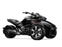 2015 Can-Am Spyder F3-S SE6 motorcycle in black with